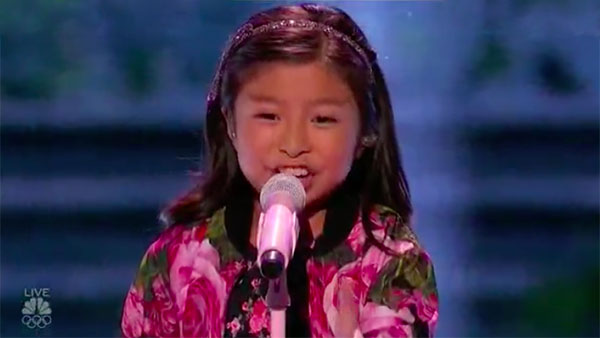 Celine Tam sings 'When You Believe' on America's Got Talent Live Shows
