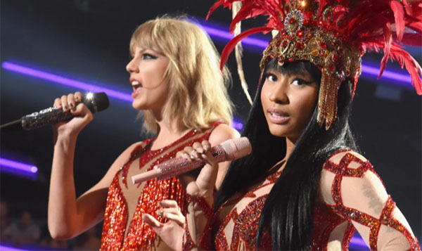 Did Nicki Minaj throw shades at Taylor Swift after new song release?