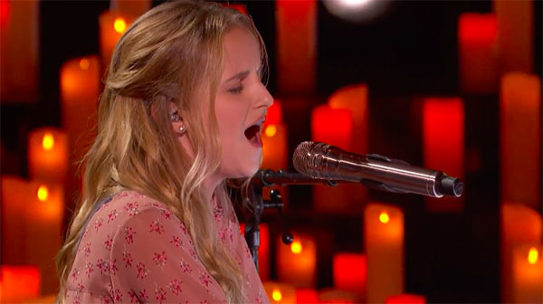 Evie Clair sings 'Wings' on America's Got Talent Live Shows