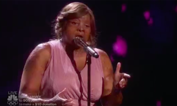 Kechi Okwuchi sings 'By the Grace of God' on America's Got Talent Quarterfinals