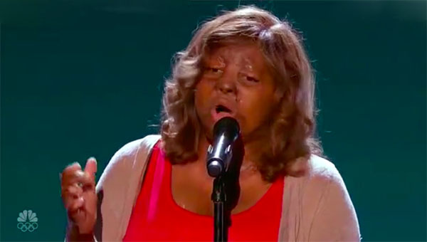 Kechi sings 'Have a Little Faith in Me' on America's Got Talent 2017 Judge Cuts