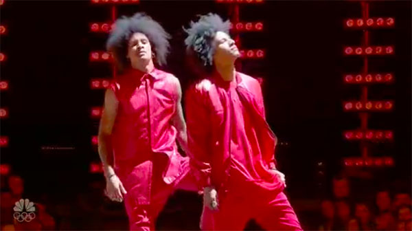Les Twins delivers stunning performance on World of Dance Finale