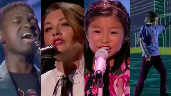 Mandy Harvey, Johnny Manuel, Celine Tam, Merrick Hanna advances to AGT Semifinals