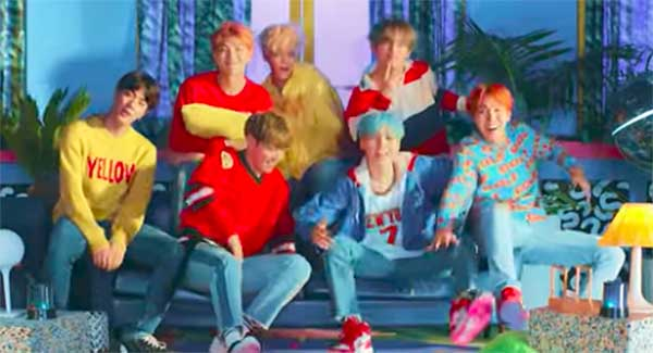BTS Enters Billboard Hot 100 Hit Chart with 'DNA'