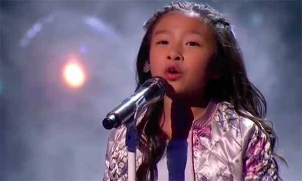 "Celine Tam sings ""How Far I'll Go"" on America's Got Talent Semifinals"