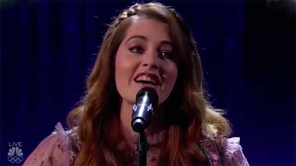 Deaf singer Mandy Harvey performs 'This Time' on America's Got Talent Finals