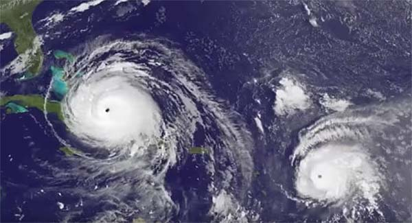 Hurricane Jose upgraded to a powerful Category 4