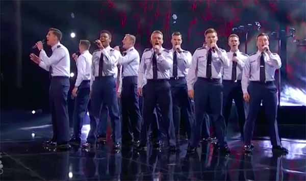 In the Stairwell sings 'Castle on the Hill' on America's Got Talent Semifinals