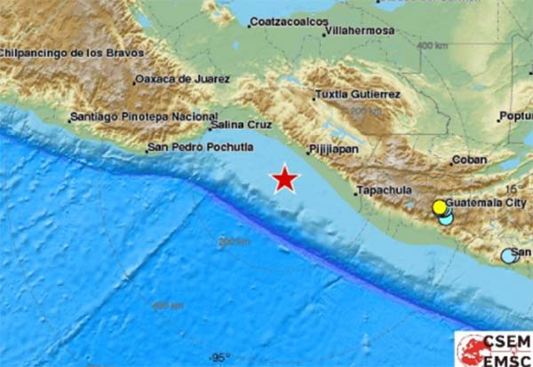 Magnitude 8 Earthquake Shakes Southern Mexico