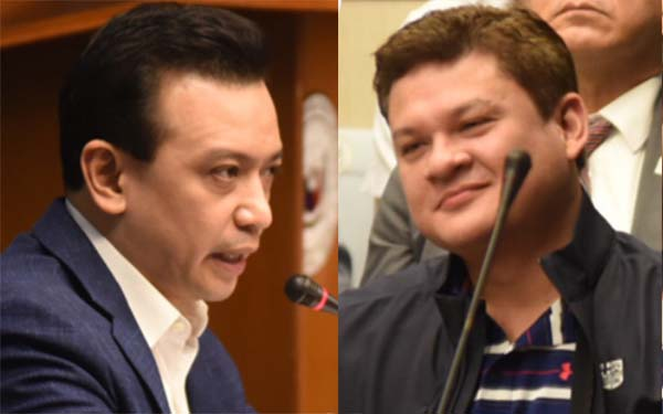 Trillanes accuses Paolo Duterte a member of International Triad, dares to show Tattoo