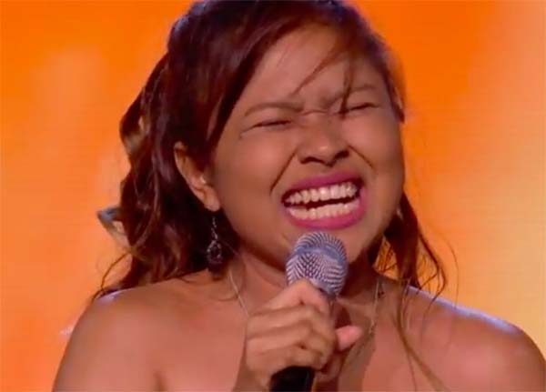 Alisah Bonaobra stuns with 'Defying Gravity' on The X Factor 2017 Boot Camp
