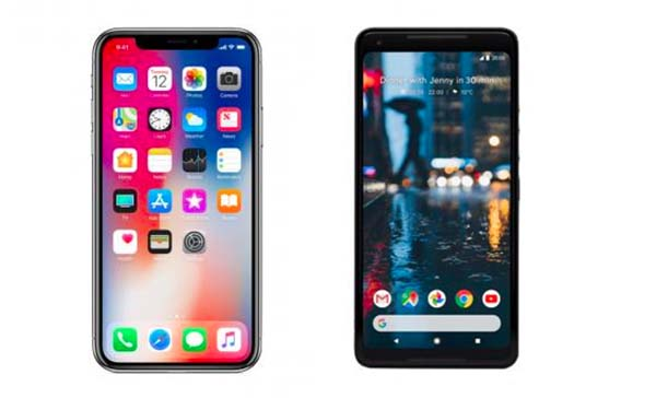 Apple iPhone X vs Google Pixel 2 XL Specs and Features