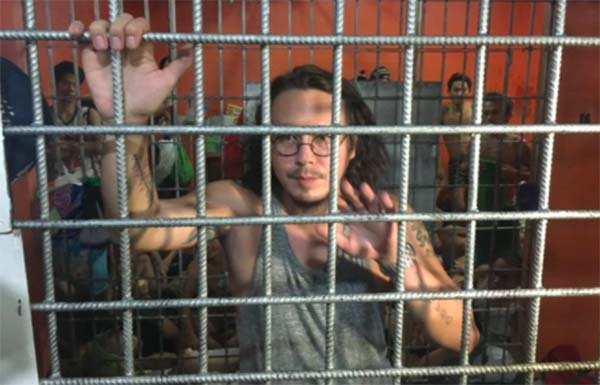 Baron Geisler arrested for unruly behavior at a bar in QC