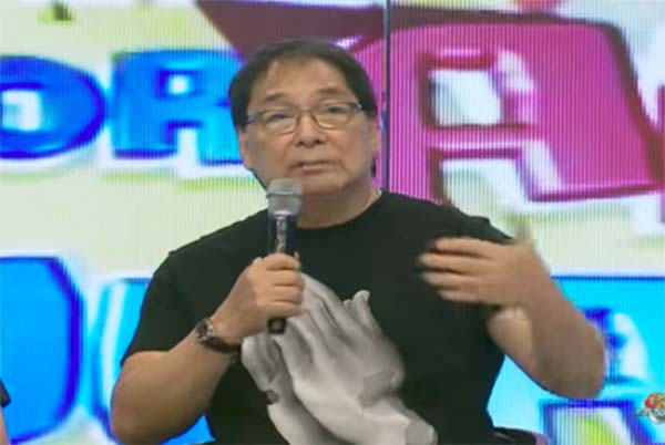 Joey de Leon Issues Public Apology about 'Depression' Remarks