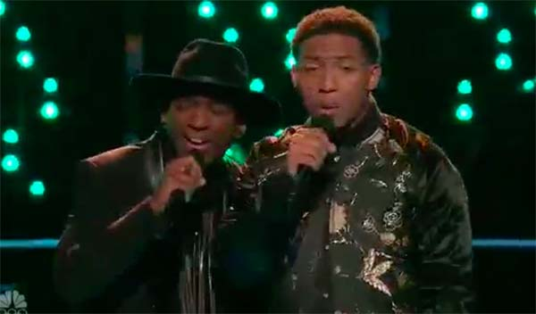 Jon Mero vs Brandon Brown 'I Wish It Would Rain' The Voice Battles