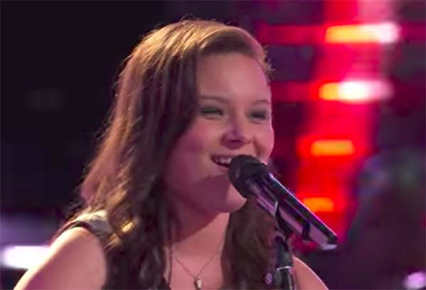 Moriah Formica sings 'Crazy on You' on The Voice 2017 Blind Auditions