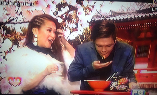 Xander Ford takes the 'Ramyeon' Spicy Noodle Challenge on ASAP LSS