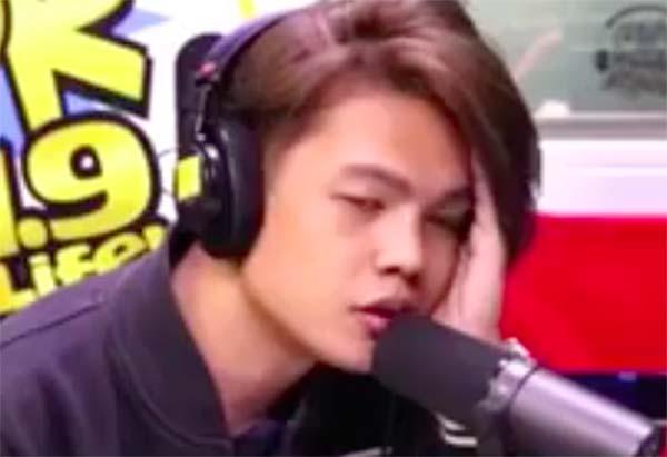 Xander Ford pinagalitan at sinabihang 'PANGET' ng isang Caller On-Air