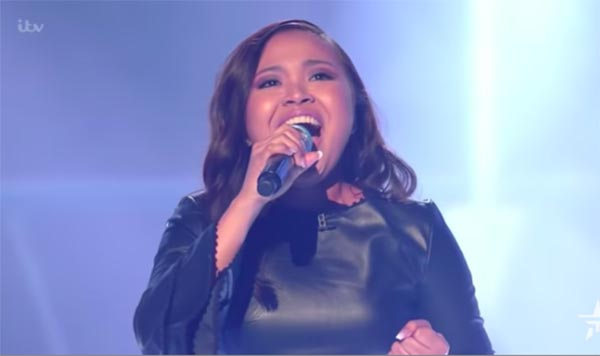 Alisah Bonaobra sings 'This is My Now' on The X Factor UK Live Shows