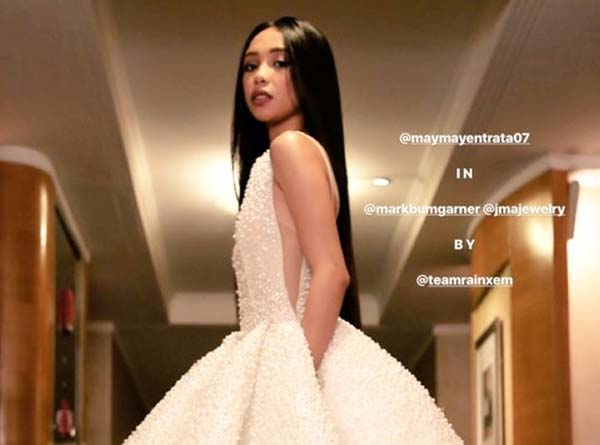 Tyra Banks Likes Maymay Entrata's Star Magic Ball 2017 Gown
