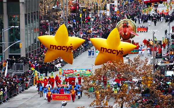 91st Macy's Thanksgiving Day Parade 2017
