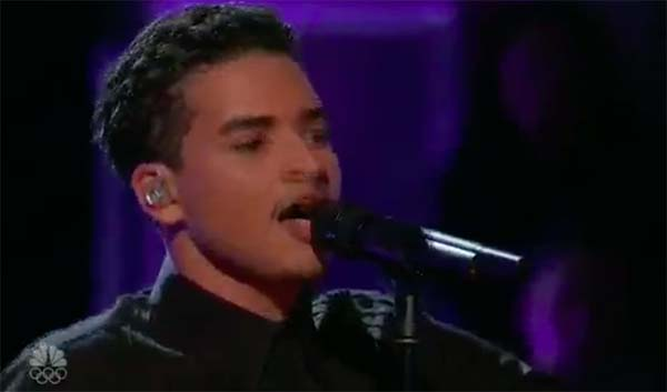"Anthony Alexander sings ""Perfect"" The Voice Season 13 Playoffs"