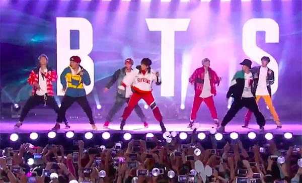 Watch: BTS at 'Jimmy Kimmel Live' Full Performance Video