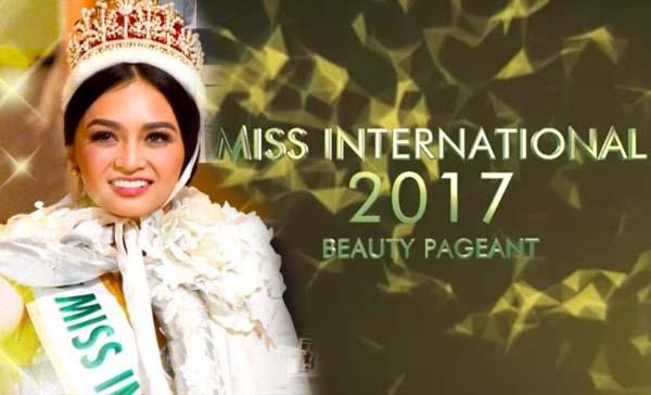 LIVE STREAM: Miss International 2017 Grand Coronation