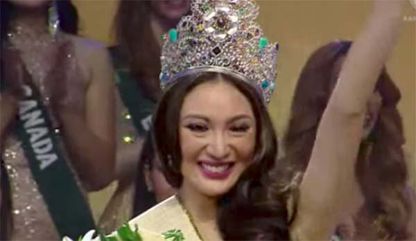 Philippines Karen Ibasco Crowned Winner of Miss Earth 2017