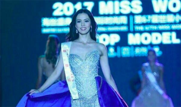 Laura Lehmann comes in strong in Miss World 2017 campaign