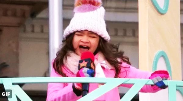 WATCH: Pinay singer Angelica Hale performs at Macy's Thanksgiving Day Parade