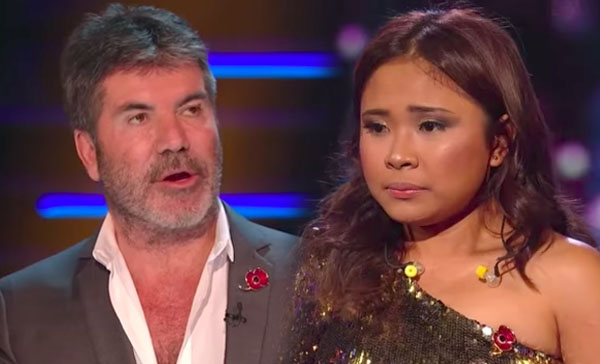 Simon Cowell got Booed with his Comments for Alisah Bonaobra on X Factor UK