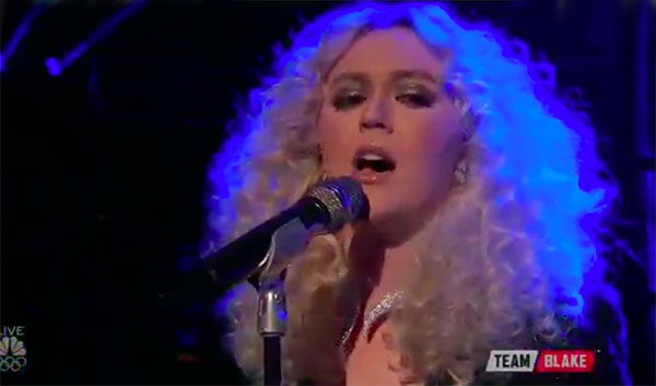 """Chloe Kohanski sings """"I Want To Know What Love Is"""" on The Voice 2017 Top 8 Live Semifinals"""