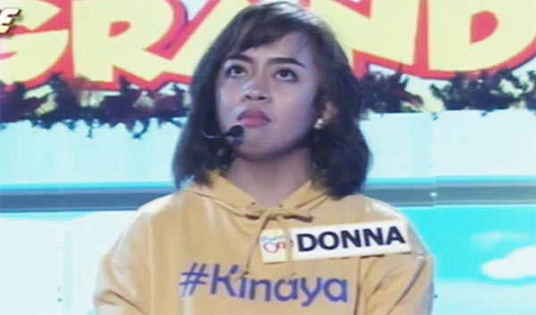 Watch: Donna Cariaga Named as 'The Funny One' Grand Winner