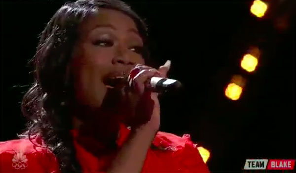 "Keisha Renee sings ""What Hurts The Most"" on The Voice 2017 Top 8 Live Semifinals"