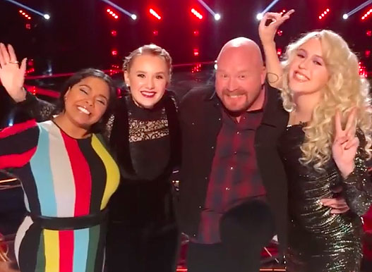 The Voice iTunes Charts and Rankings for 2017 Season 13 Top 4 Finale