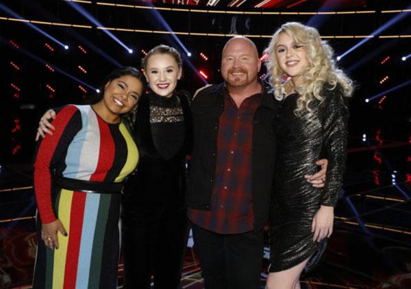 The Voice Season 13 Grand Finale, Top 4 Live Performance Recap December 18 2017
