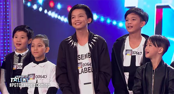 Baby Boys Charms the Judges on Pilipinas Got Talent