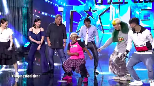 Nanay Angelisa Gets 4 Yeses on Pilipinas Got Talent 2018 Season 6