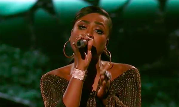 """Candice Boyd sings """"Don't Speak"""" on The Four Finale"""