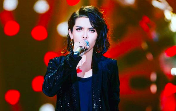 "KZ Tandingan beats Jessie J, sings ""Rolling in the Deep"" in China's Singer 2018"