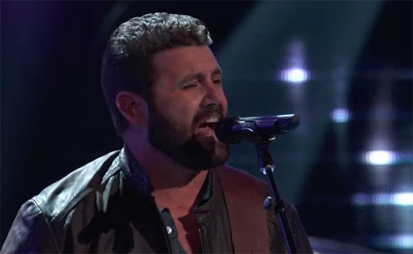 "Pryor Baird sings ""I Don't Need No Doctor"" on The Voice 2018 Blind Audition"