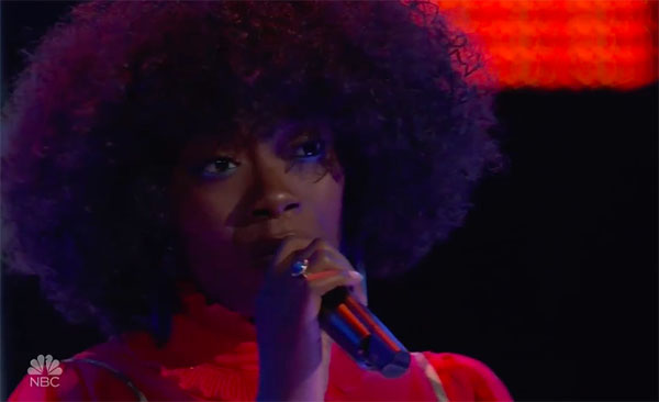 "Christiana Danielle sings ""Hotline Bling"" on The Voice 2018 Blind Audition"