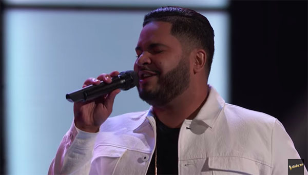 "Johnny Bliss sings ""Preciosa"" on The Voice 2018 Blind Audition"