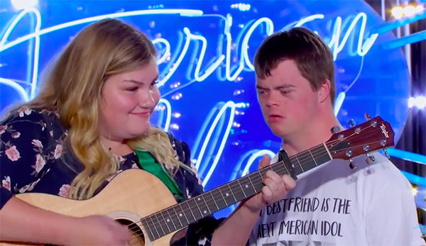 "Maddie Zahm sings ""New Rules"" on American Idol 2018 Auditions"