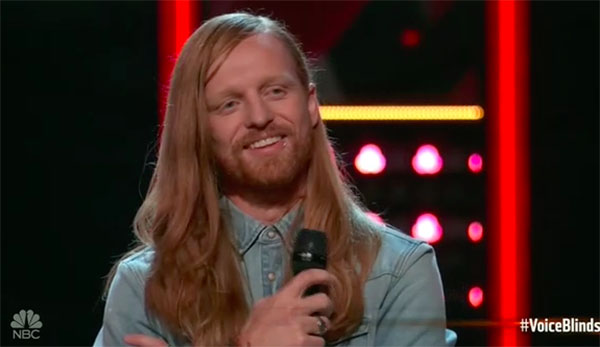 "Wilkes sings ""One Headlight"" on The Voice 2018 Blind Audition"