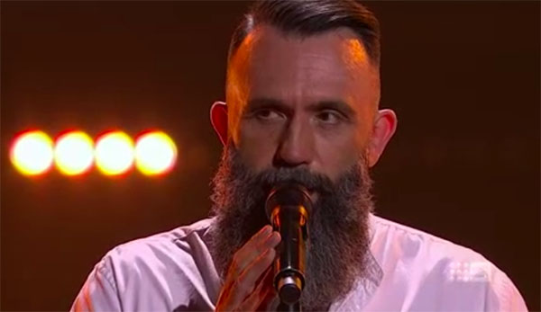 "Colin Lillie sings ""Father and Son"" on The Voice Australia 2018 Blind Auditions"