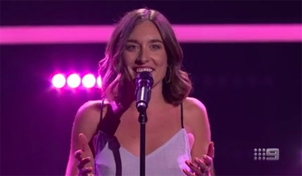 "Holly Summers-Clarke sings ""Sitting on Top of the World"" on The Voice Australia 2018 Blind Auditions"