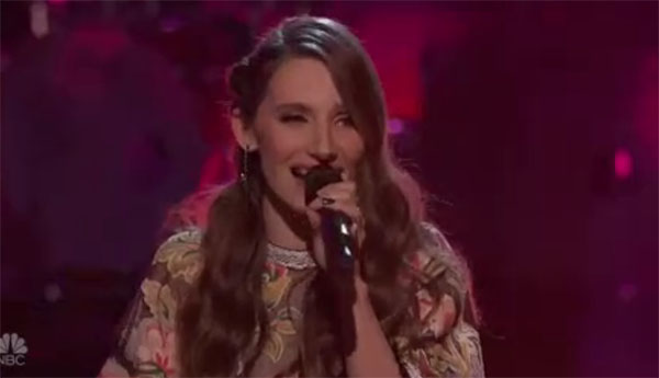 "Jackie Verna sings ""American Honey"" on The Voice 2018 Knockouts"
