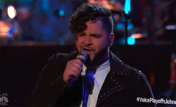 """Johnny Bliss sings """"One and Only"""" on The Voice 2018 Live Playoffs"""